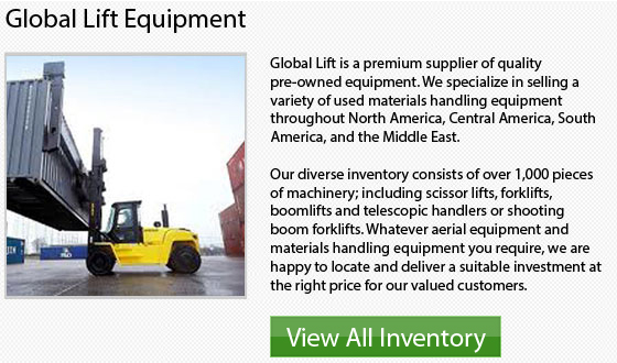Manitou Gas Forklift